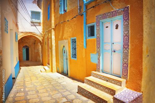 Foto op Aluminium Tunesië Arabian street