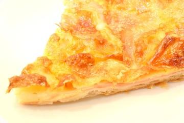 torta salata di formaggio e prosciutto
