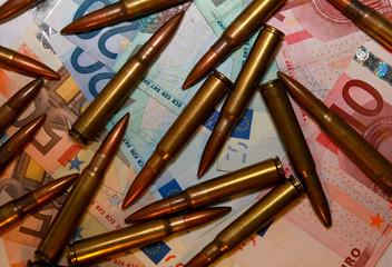Crime - Ammunition and money