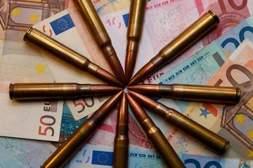 Bullets on Money of European Union