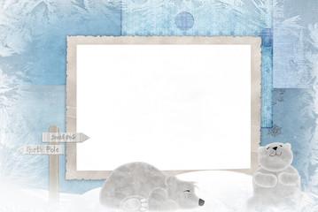 Polar Bear Frame