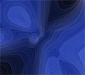 Blue contours