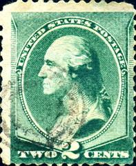 George Washington. US Postage. 1887.