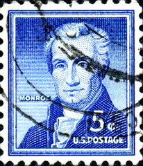 James Monroe. US Postage.