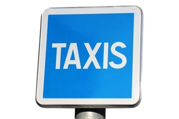 Panneau de station de taxis
