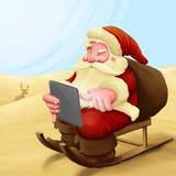 Santa Claus lost