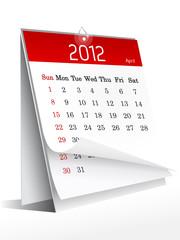 calendario aprile 2012