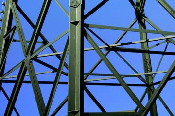 Strom und Mast