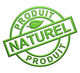 """""""Produit Naturel"""" Cachet"""