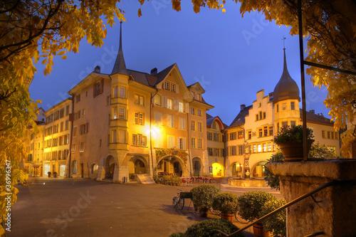 Biel/Bienne at night, Switzerland - 36996347