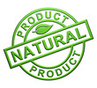 """Natural Product"" Green Label"