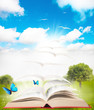 Book and nature