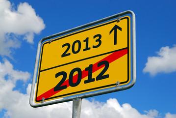 Jahreswechsel 2012-2013