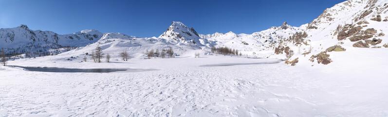 Vallée des Merveilles sous la neige