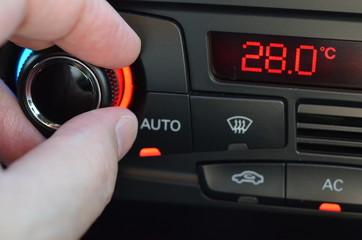 冷房温度の設定