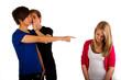 201111 mobbing zeigen finger