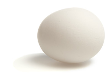 Egg white with clipping path