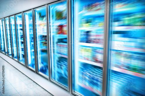 Keuken foto achterwand Boodschappen Supermarket