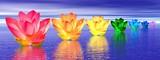 Fototapeta ilustracja - lilia - Kwiat