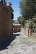Alleyway. Santarcangelo of Romagna. Emilia-Romagna. Italy.