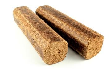 Hard wood briquettes