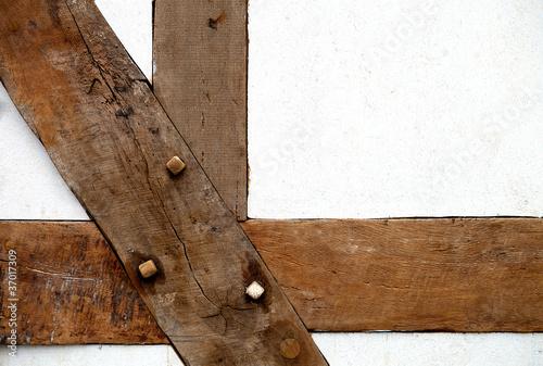 Fachwerk holzbalken matthias buehner stockfotos und for Holzbalken fachwerk