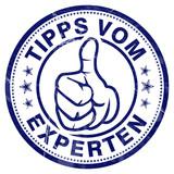 tipps vom experten stempel button