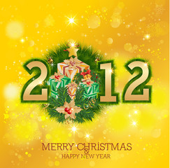 Merry Christmas & Happy New Year 2012