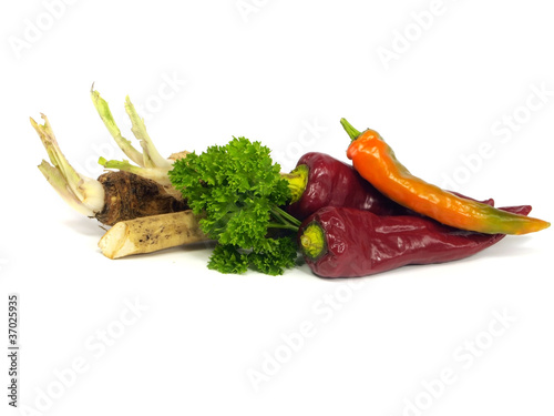 autumn vegetables still life