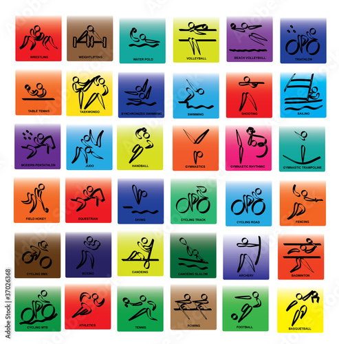 Olympic Sports logos