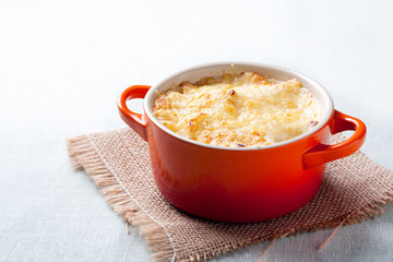 Potato gratin with béchamel