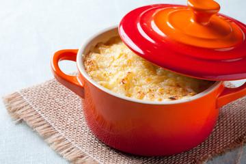 Potato gratin with bechamel