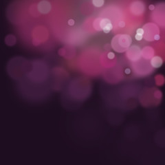 blurred circle background