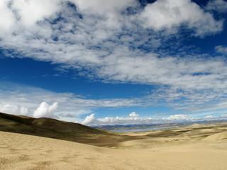dunes in Tibet
