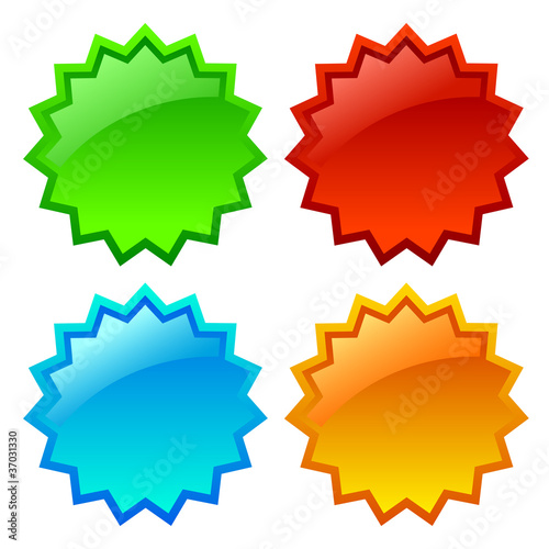 Vector star icon illustration