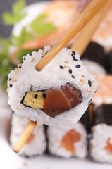 sushi primo piano
