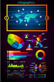 Premium infographics master collection poster