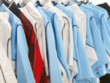soccer team uniforms poster