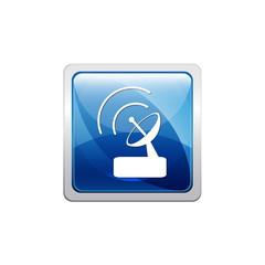 Botón glossy wifi