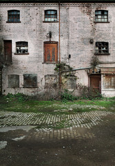 disused warehouse
