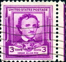 Edgar Allan Poe. United States Postage.