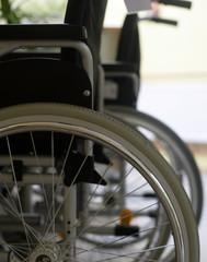 Rollstuhl im Krankenhaus
