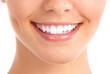 Detaily fotografie Úsměv a zdravé zuby.