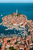 Luftaufnahme von Rovinj-Istrien im Sommer