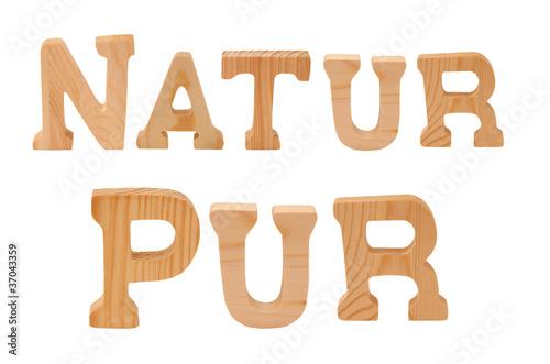 natur pur aus holzbuchstaben von stauke lizenzfreies foto 37043359 auf. Black Bedroom Furniture Sets. Home Design Ideas