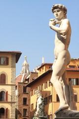 Florenz, David, Michelangelo, Toskana, Italien