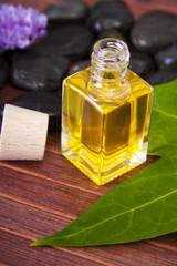 botella de perfume natural