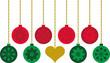 elementos decorativos de Navidad 2