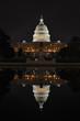 Washington DC - US Capitol at night