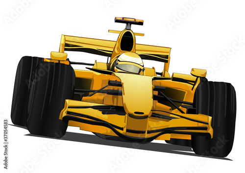 Deurstickers Snelle auto s formula one racing car